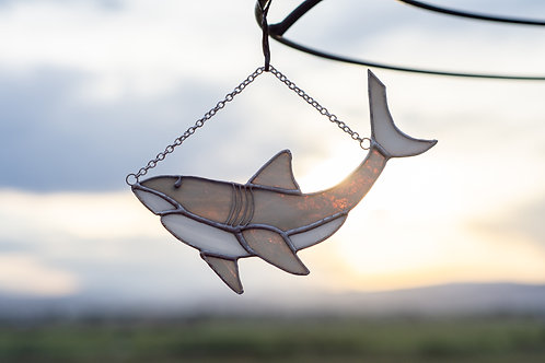 Stained Glass Shark