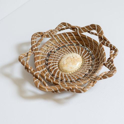 "Pine Needle Basket, ""AnaLee"" SOLD"