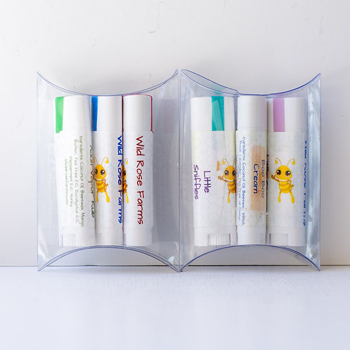 Essentials, three pack in adult and children variety