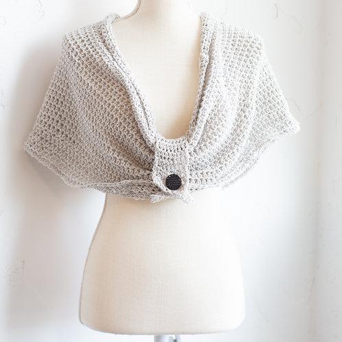 Hand Crocheted Shawl/Scarf