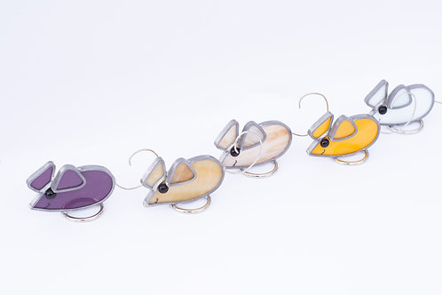 Stained Glass Mice