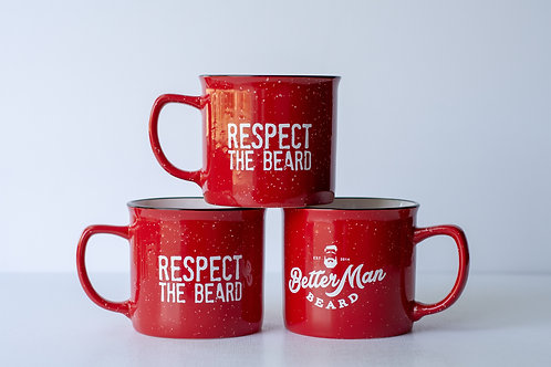 Better Man Beard Ceramic Mug