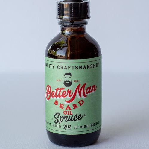 Better Man Beard Oil, spruce