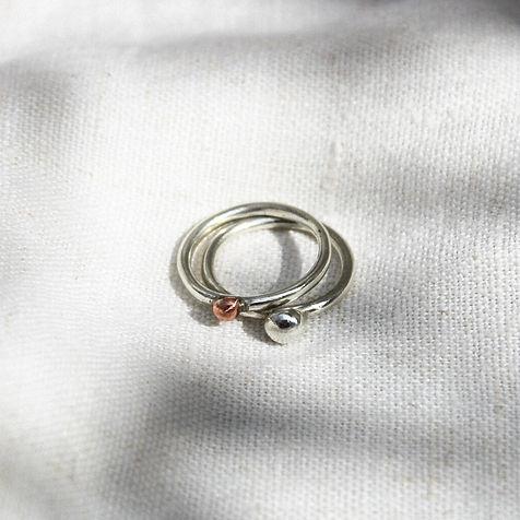 Orb duo rings