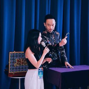 Hahow老師派對 | 魔術師黃柏翰-奇幻製造者  頂級貴賓晚宴 魔術表演 尾牙表演團體