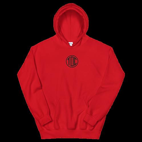 TOC Circle Hoodie - RED