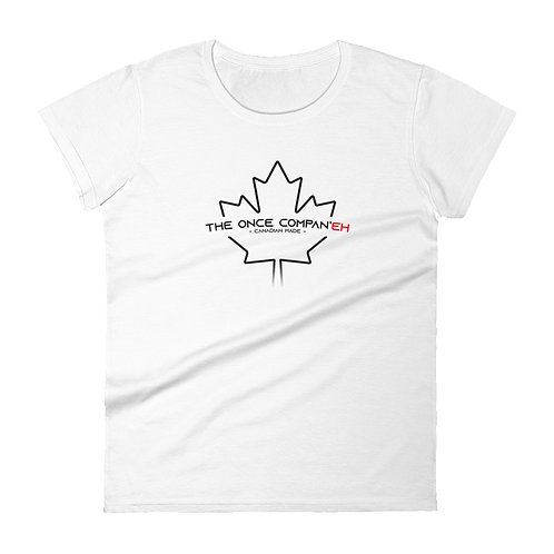 White Canadian Made Tee - Women's