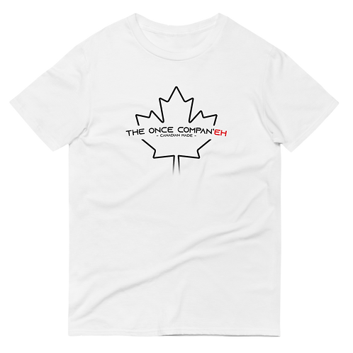 White Canadian Made Tee - Men's
