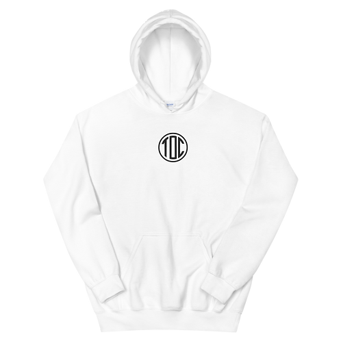 TOC Circle Hoodie - WHITE
