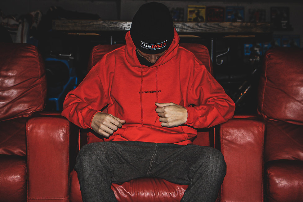 ONCE Hoodie - Fall Series I - RED