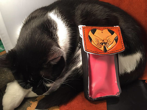 Pu**y Love Phone Holster (cat not included)