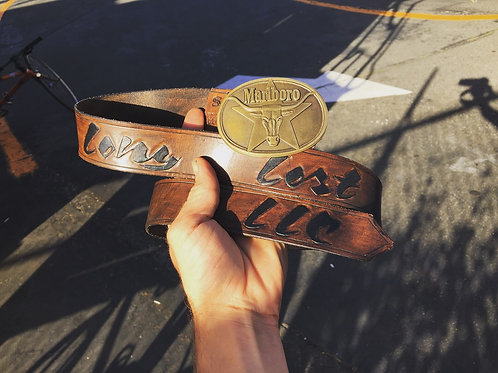 Stained Belt Carved