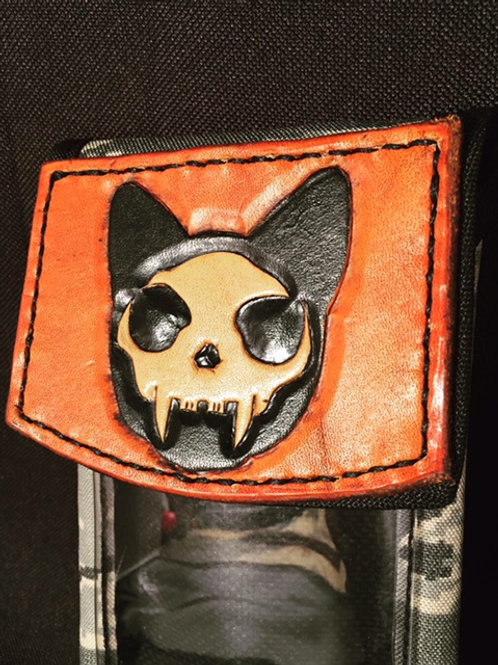 Cat Skull Phone Holser
