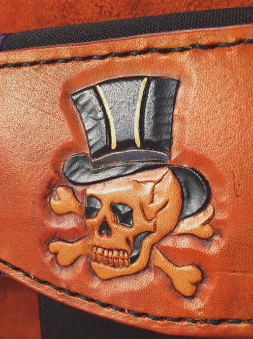 Fancy Skull Phone Pouch