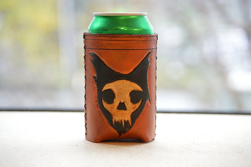 Cat Skull Koozie