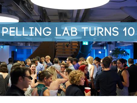 Pelling Lab Turns 10!