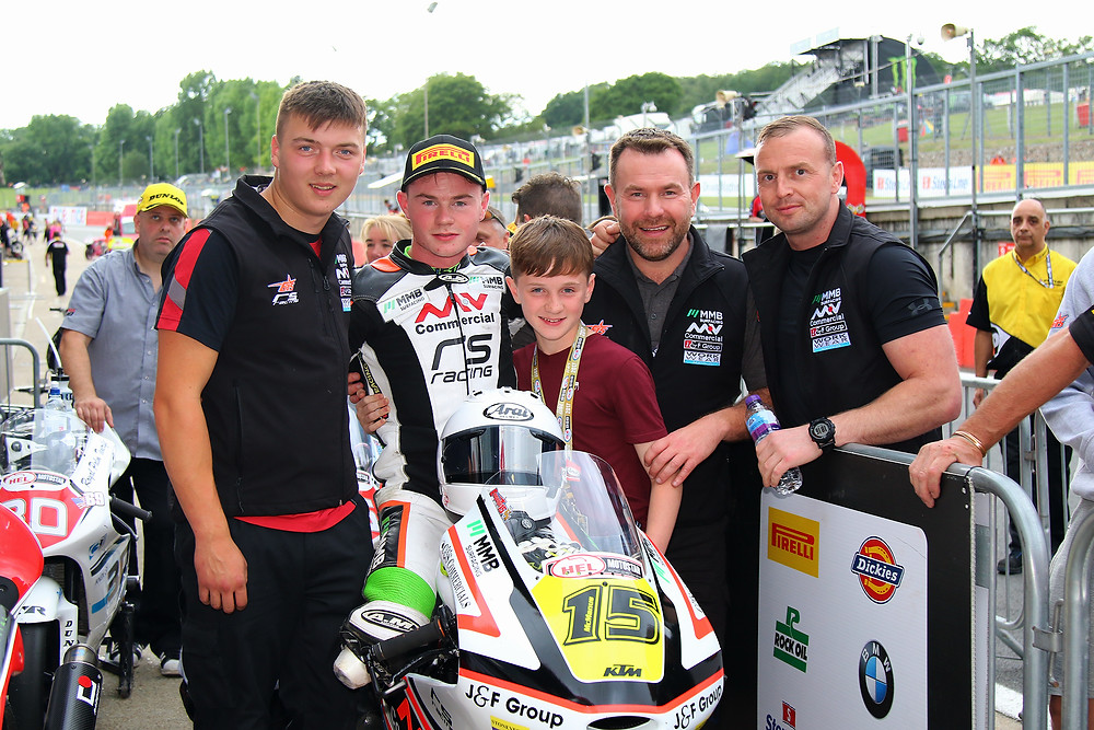 another podium at Brands Round 6