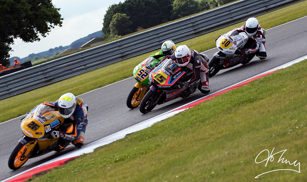 Wee Bull in action at Snetterton 2016