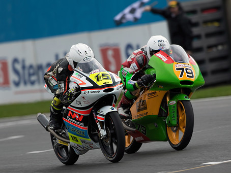 Eugene claims maiden BSB podium at Donny.