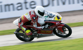 Jake continues good form with another NGRRC Win at Cadwell Park.