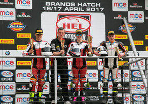 Brands Hatch Review - Jake heading in the right direction with 2 podium finishes.