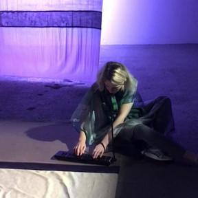 Nuit lavande - Palais de Tokyo - Sound piece Héloïse Derly - Interpretation Héloïse Derly