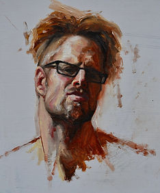 self-portrait-study-mop-top andy sjodin