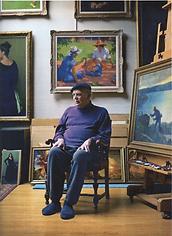 Lack sitting among portraits.png
