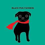 Art on textile, Black Pug Fashion line