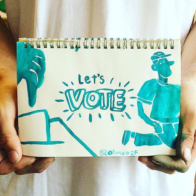 Let's #VOTE