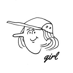 girl _#jetcap #illustration #popeye