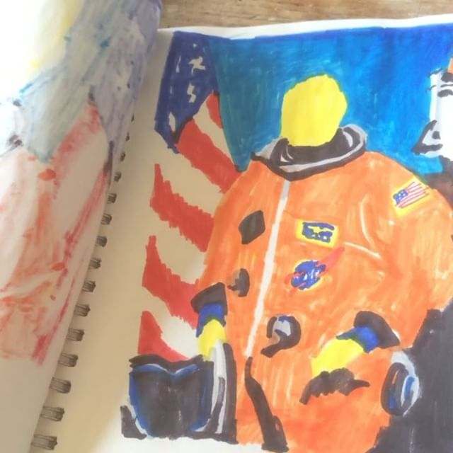🆕 #nasa #pilot #illustration