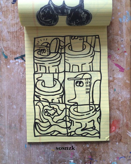 🐙🚽_._#sosnzk #drawing #artwork #illust