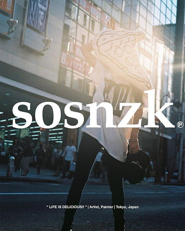 sosnzk was here. 2017_._🍕👍_._今週末Tokyo