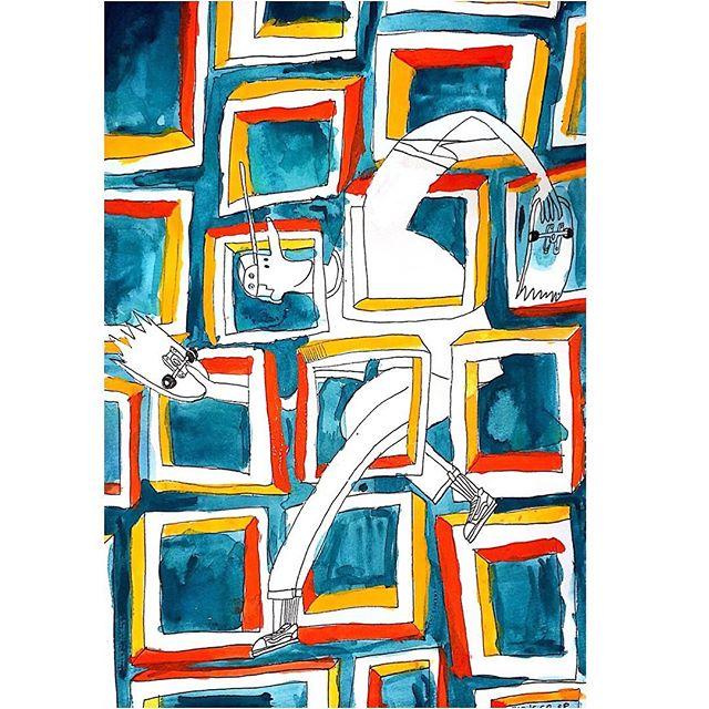 "🔲 🔳 🔲 🔳 ""square""  210×297(mm)Sketchb"