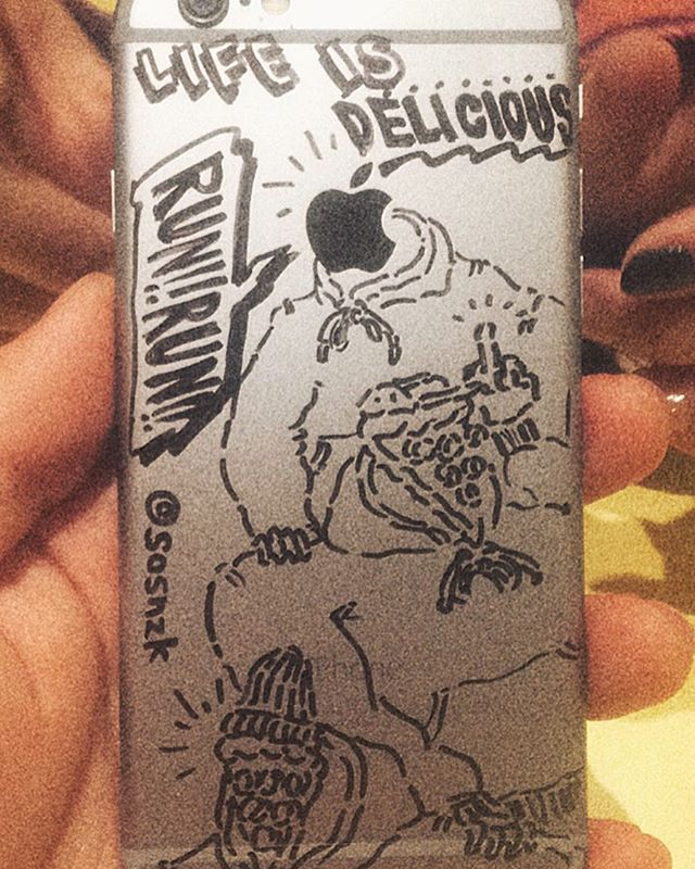 "📲🍕 iPhone ""Delicious"" jack!! series_"