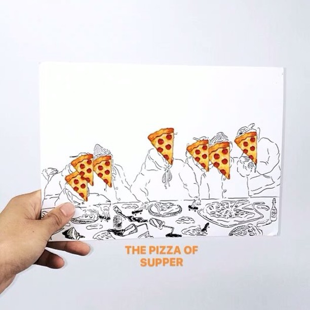 "🍕🍷🍕🍷🍕 ""THE LAST OF PIZZA PARTY"" ""最後"