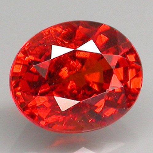 Natural  1.45 ct Spessartite Garnet loose stone