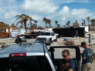 Task Force 75 condcting operations in the Florida Keys following hurricane Irma