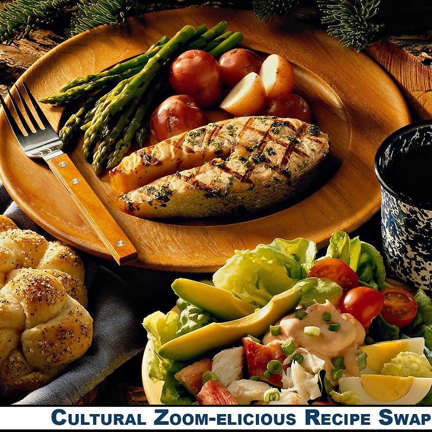 Cultural Zoom-elicious Recipe Swap