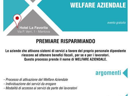 """Convegno a Mantova il 20-04 su """"WELFARE AZIENDALE"""""""