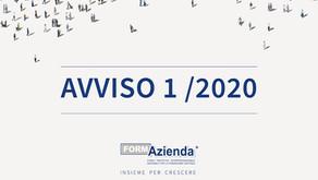 FORMAZIENDA: AVVISO 1/2020