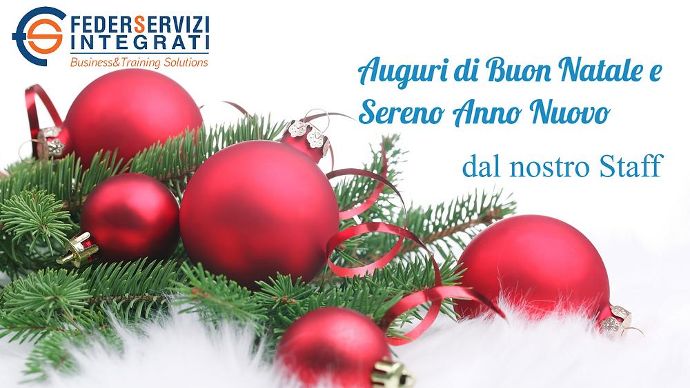 Saluti Di Buon Natale.Auguri Di Buon Natale E Buone Feste Dallo Staff Di Federservizi