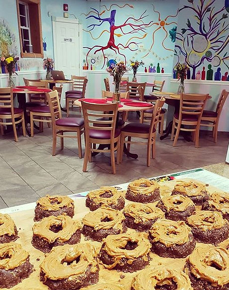 Our Raw Protein Buchwheat PB Donuts!! Th