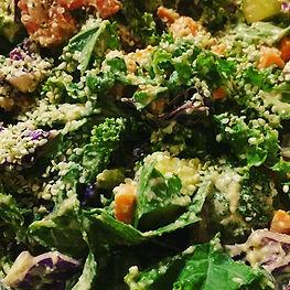 Rawsome Salad! This protein, nutrient de