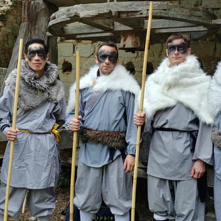 Démonstration de Wukong Tours pour un Mariage Viking