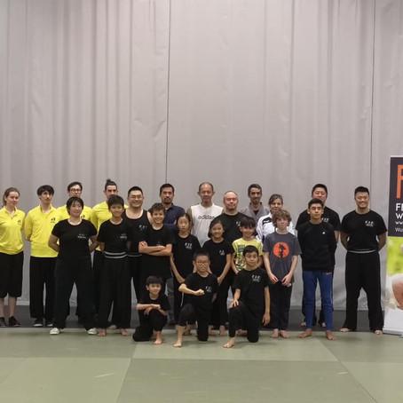 Stage avec Mickaël Duchet de la Fédération Wushu France