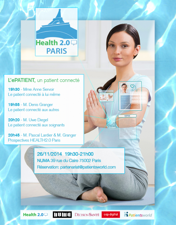 Conférence Paris 26/11/14: Health2.0