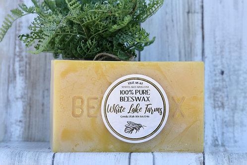 1 LBS Block of Beeswax