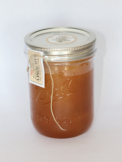 21 oz Raw Unfiltered Whole Honey